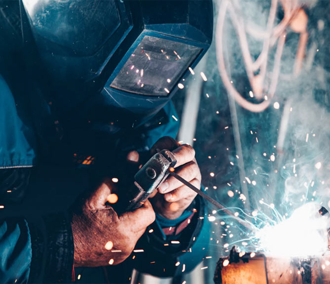 Construction safety - welding