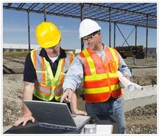 Safety consulting services - on construction site